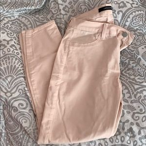 Jbrand cropped blush pants